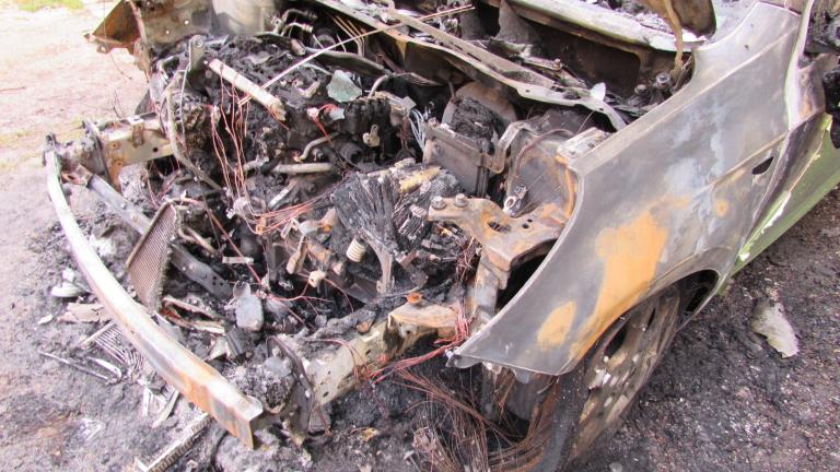 Изгоря автомобилът на адвокат, защитавал бизнеса на семейство Баневи