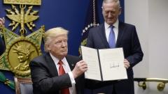 """""""Лудото куче"""" на Тръмп поема към Азия с поглед към заплахата от Пекин и Пхенян"""