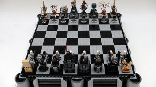 Шах с героите от Star Wars