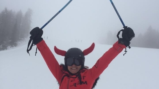 Вижте къде кара ски Валентина Войкова