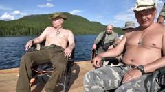 Два часа Путин гони щука с харпун