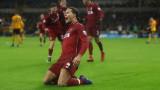 Ливърпул спечели гостуването си на Уулвърхямптън с 2:0