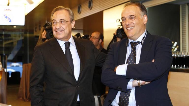 Президентът на Ла Лига Тебас: Не помага Реал да звъни 20 минути след мач! ВАР трябва да се подобри