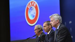 УЕФА запазва правилото за пет смени и през настоящия сезон
