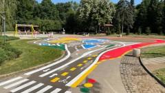 Покажете на детето си как да пресича улица в Южния парк в София