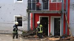 Бури в Бавария наводниха улици и мазета