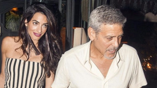 Джордж Клуни се превърна в недоспал татко (СНИМКА)