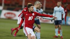 Бъдещето на Рубен Пинто в ЦСКА е поставено под сериозна въпросителна