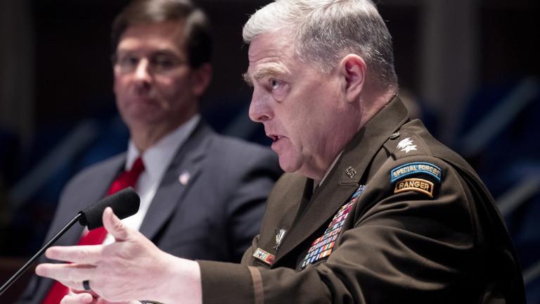 Армията на САЩ потвърди Байдън, осъди вандализма в Капитолия