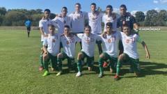 България U16 отстъпи на Катар на приятелски турнир в Хърватия
