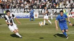 """Локомотив (Пловдив) - Левски 2:0, """"смърфовете"""" мачкат """"сините"""" до полувремето"""