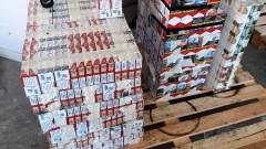 "Откриха 2366 кутии цигари на ""Дунав мост-Видин"""