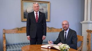 Шарл Мишел: Беларус упражнява натиск над Литва с мигрантите