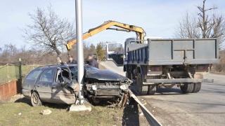 МВР издири ранен шофьор, катастрофирал и избягал от местопроизшествието