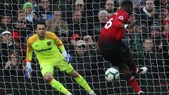 Две дузпи съхраниха надеждите на Манчестър Юнайтед за Топ 4