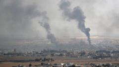 Режимът на Асад бомбардира 10 града в зоната за деескалация