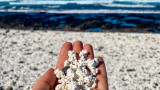 "Popcorn Bay на Фуертевентура - плажът с ""пуканки"""