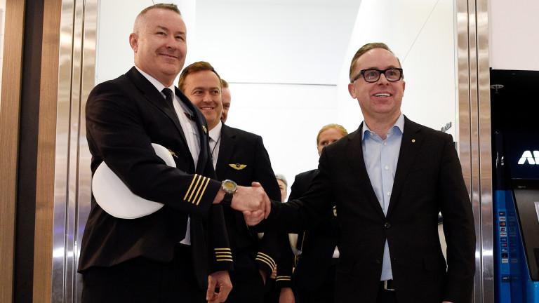 Qantas с най-дългия директен полет в света – близо 20 ч. от Ню Йорк до Сидни