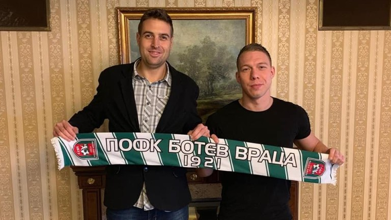 Ботев (Вр) се раздели с естонски защитник