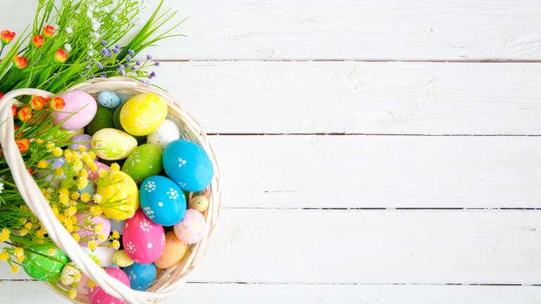 Лесни трикове за красиви великденски яйца