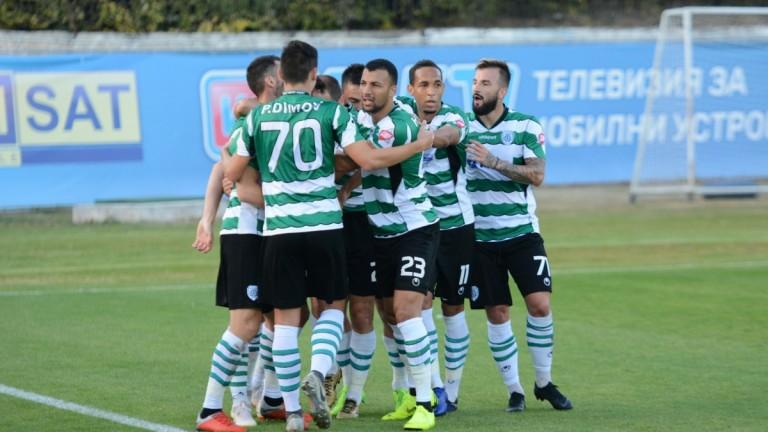 Черно море започна подготовка за мача със Септември