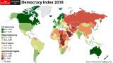 Упадък на демокрацията в Европа, невиждан никъде другаде по света