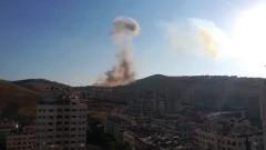 Взрив в склад за боеприпаси в Дамаск