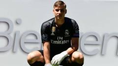 Вратар на Реал (Мадрид) е с коронавирус