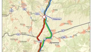 """Отклоняват камионите от АМ """"Струма"""" през Долна Диканя"""