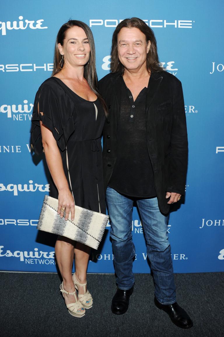 С втората си съпруга Джени Лижевски