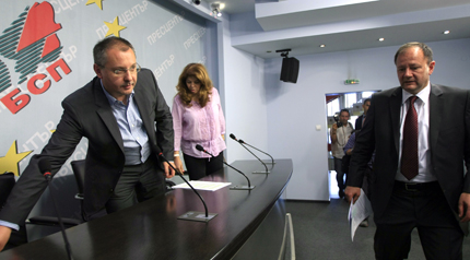 Станишев иска вот на доверие в четвъртък