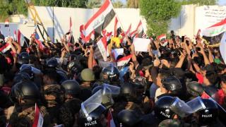40 загинали и 2500 ранени при протестите в Ирак