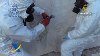 Испания хвана голямо количество наркотици в мрамор от Мексико