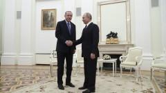 Путин пред Ердоган: Никой не знаеше местоположението на турските войници
