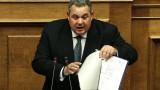 Коалиционният партньор на Ципрас скочи срещу споразумението за Македония
