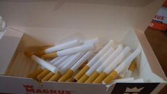 Депо за съхранение на контрабандни цигари разкриха в Русе
