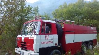 Пожар и в Кюстендилско