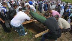 Босна погреба 409 новооткрити жертви на клането в Сребреница