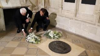Франция и Италия отбелязват 500 г. от смъртта на Леонардо да Винчи