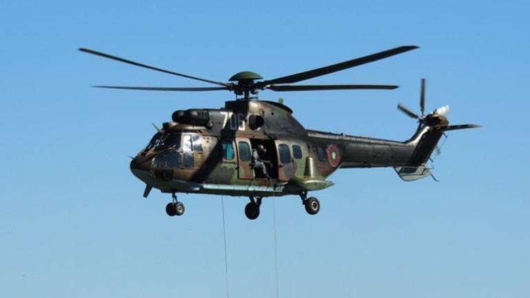 """Оборудват два вертолета """"Кугър"""" за гасене на пожари"""