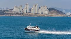 87 души са ранени след вероятен сблъсък на ферибот с кит