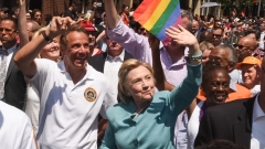 Хилари Клинтън отиде на гей парад в Ню Йорк