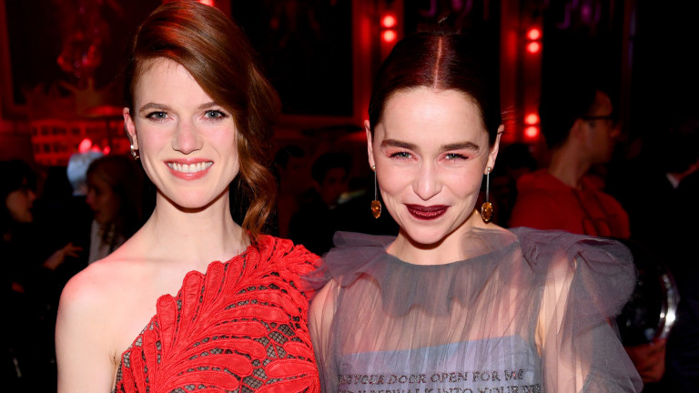 Emilia Clark, Rose Leslie, their trip to India and who ...