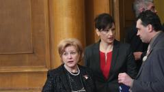 Секретността на доклада за КТБ ще падне, убедена Менда Стоянова