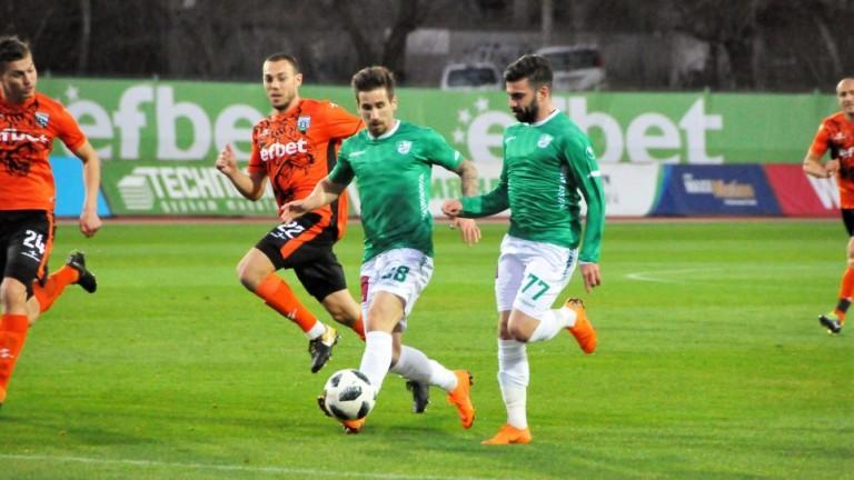 Берое - Витоша (Бистрица) 1:0, Зоран Йосипович дава преднина на старозагорци