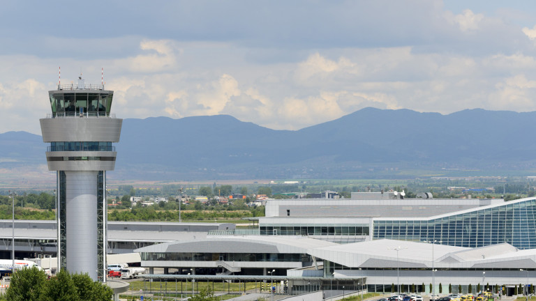 Летище София с най-голям ръст на трафика в Европа