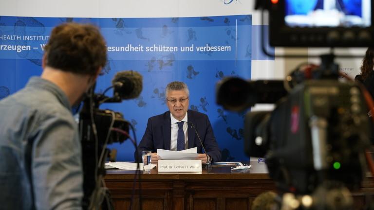 """Ситуацията с коронавируса в Германия - """"много сериозна"""""""