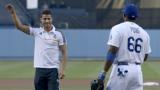 ВИДЕО: Роналдо стана за смях на бейзболен мач