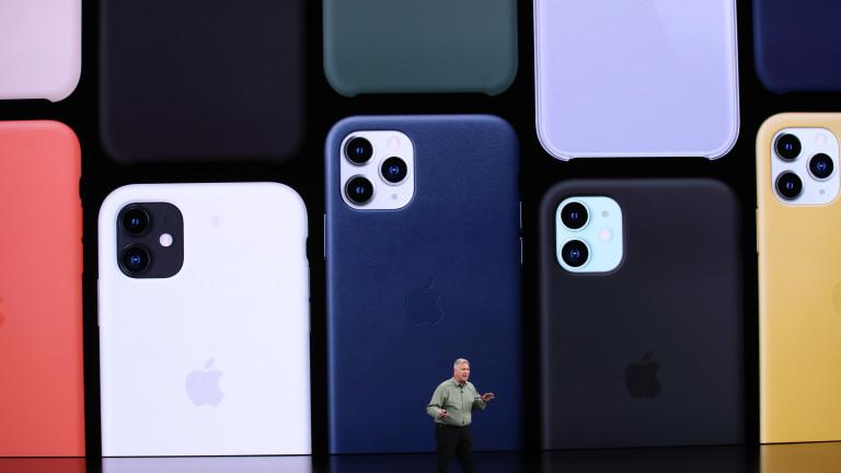 Преди седмица Apple представи тазгодишните си модели смартфони в лицето