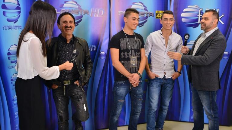 Милко Калайджиев показа порасналите си близнаци (СНИМКИ)